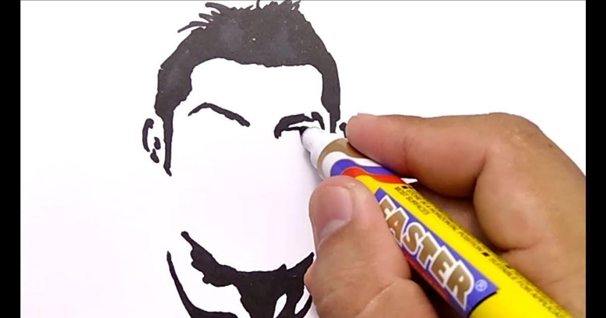 31 Gambar Kartun Keren Banget Hitam Putih Cara Keren Menggambar Ronaldo Cr7 How To Draw Cristiano Ronaldo Cr7 Download 30 Gamb Kartun Gambar Gambar Kartun