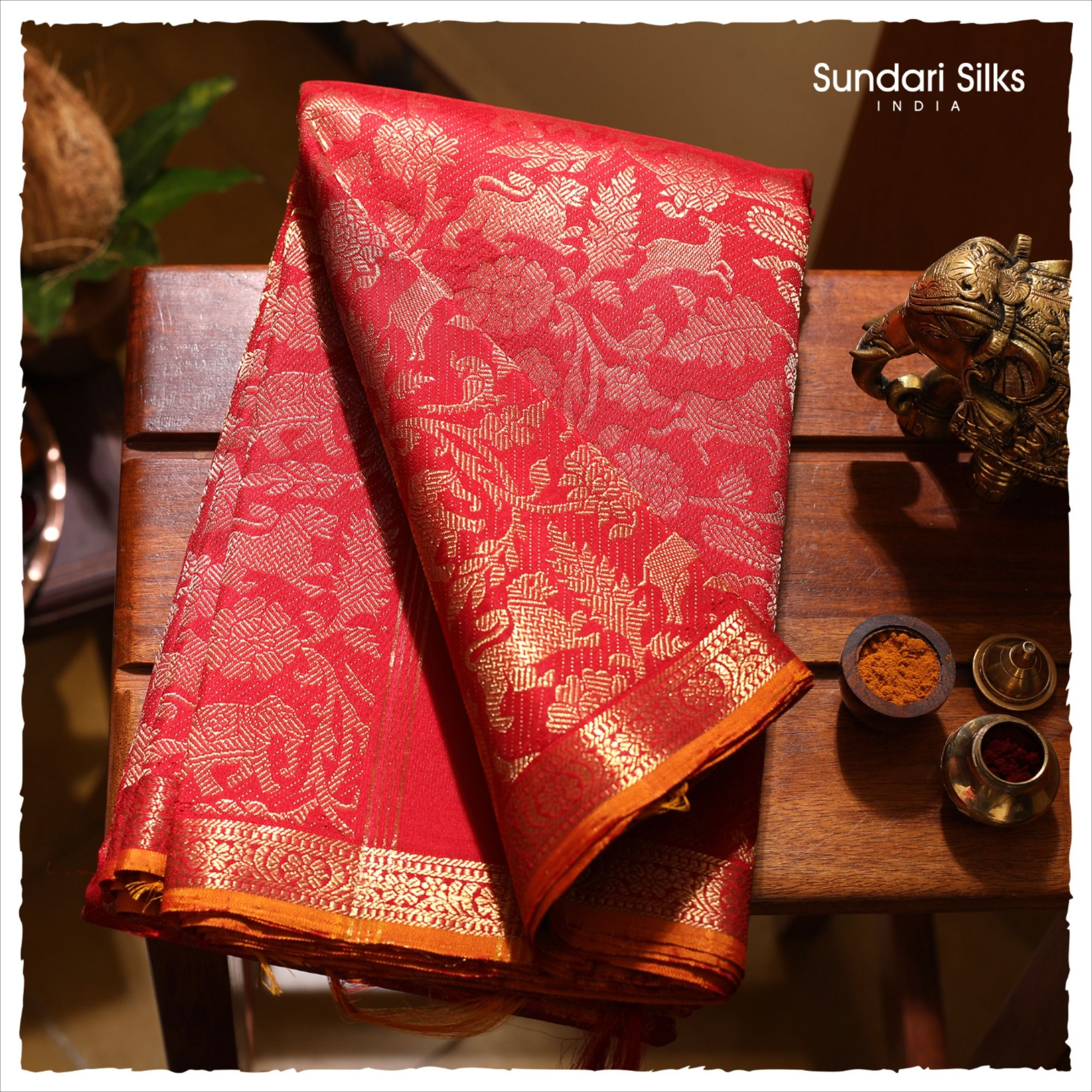 Photo of Vanasingaram Motif Kanchipuram Silks