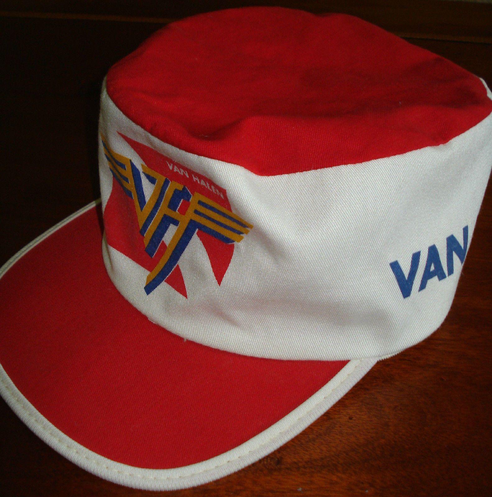 Van Halen Vintage Painters Cap W Tag Van Halen Van Vintage