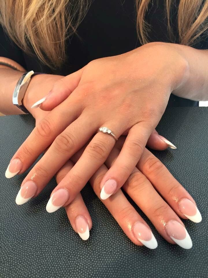 French Style With Color Acrylic Nails Pinterest Pictures to Pin on ...