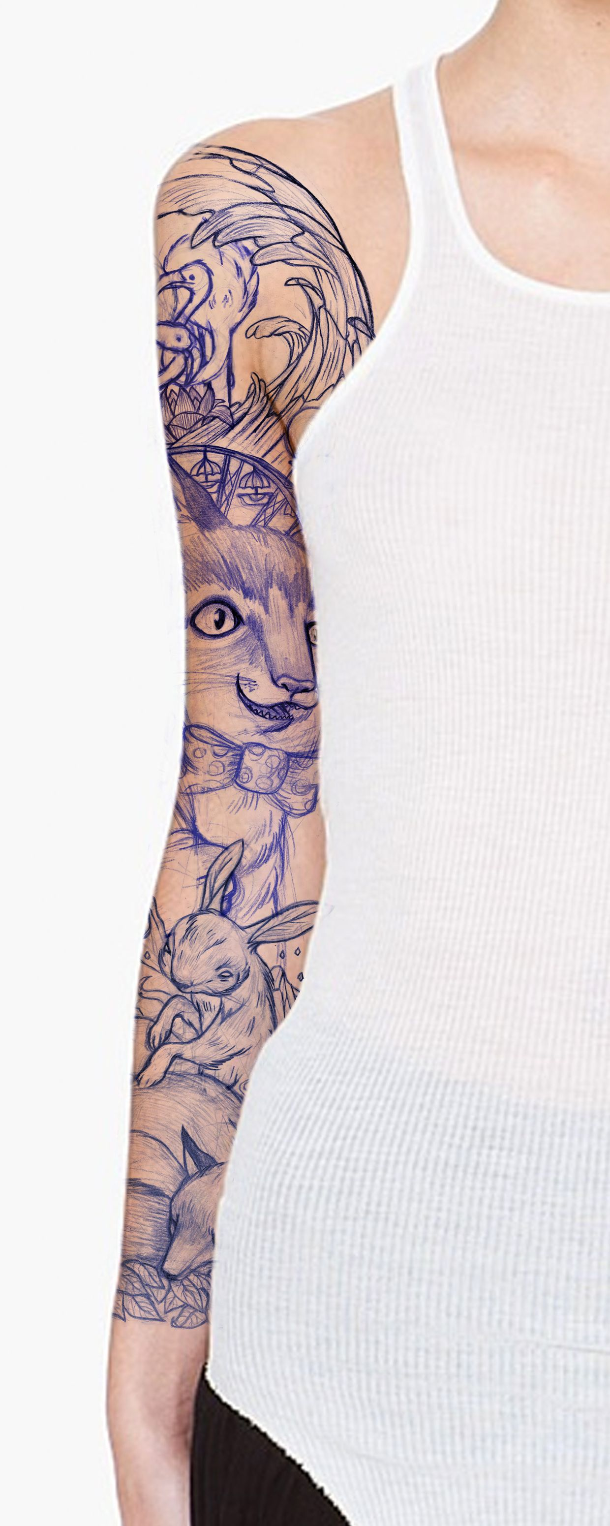 Pencil tattoo. Not sure who this is by but it has to be one of the best things I have seen!!! LOvE <3