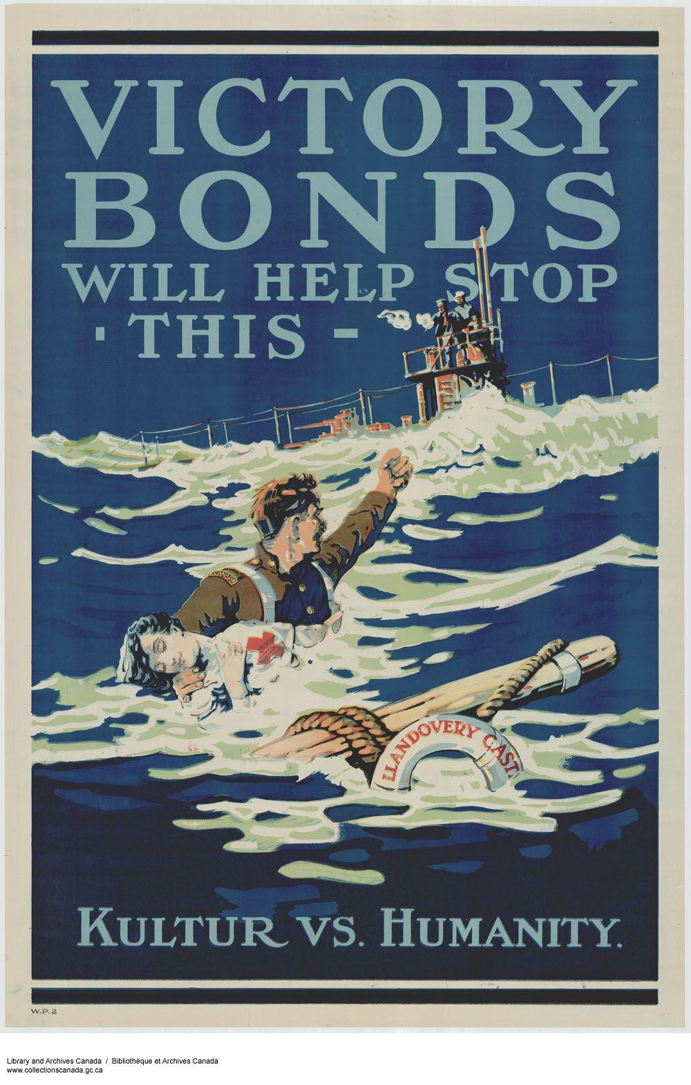 Canadian First World War, Enlistment & Propaganda Posters - Canada ...