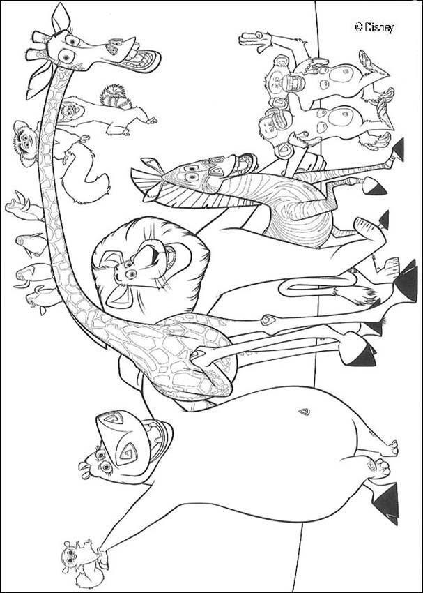 Dibujo Para Colorear Animales Salvajes Dibujos Para Colorear Cuadros De Animales Animales Salvajes