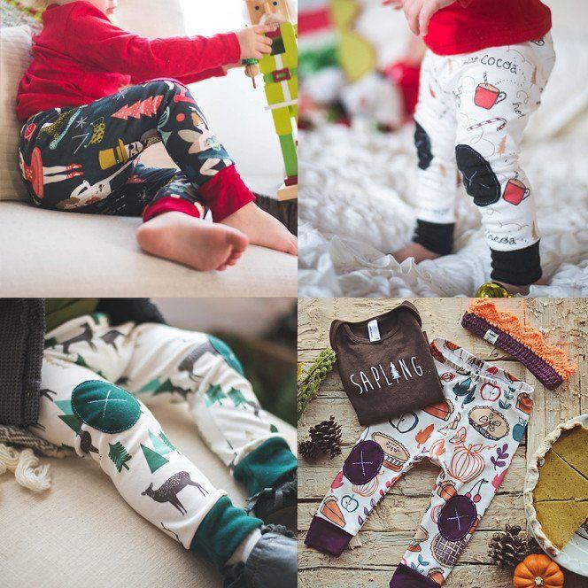 SALE - 4 2015 Holiday Designs    Adventure Leggings
