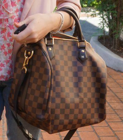 03f119ec0d24 Louis Vuitton Damier Ebene Speedy 30 Bandouliere bag handheld   Louisvuittonhandbags