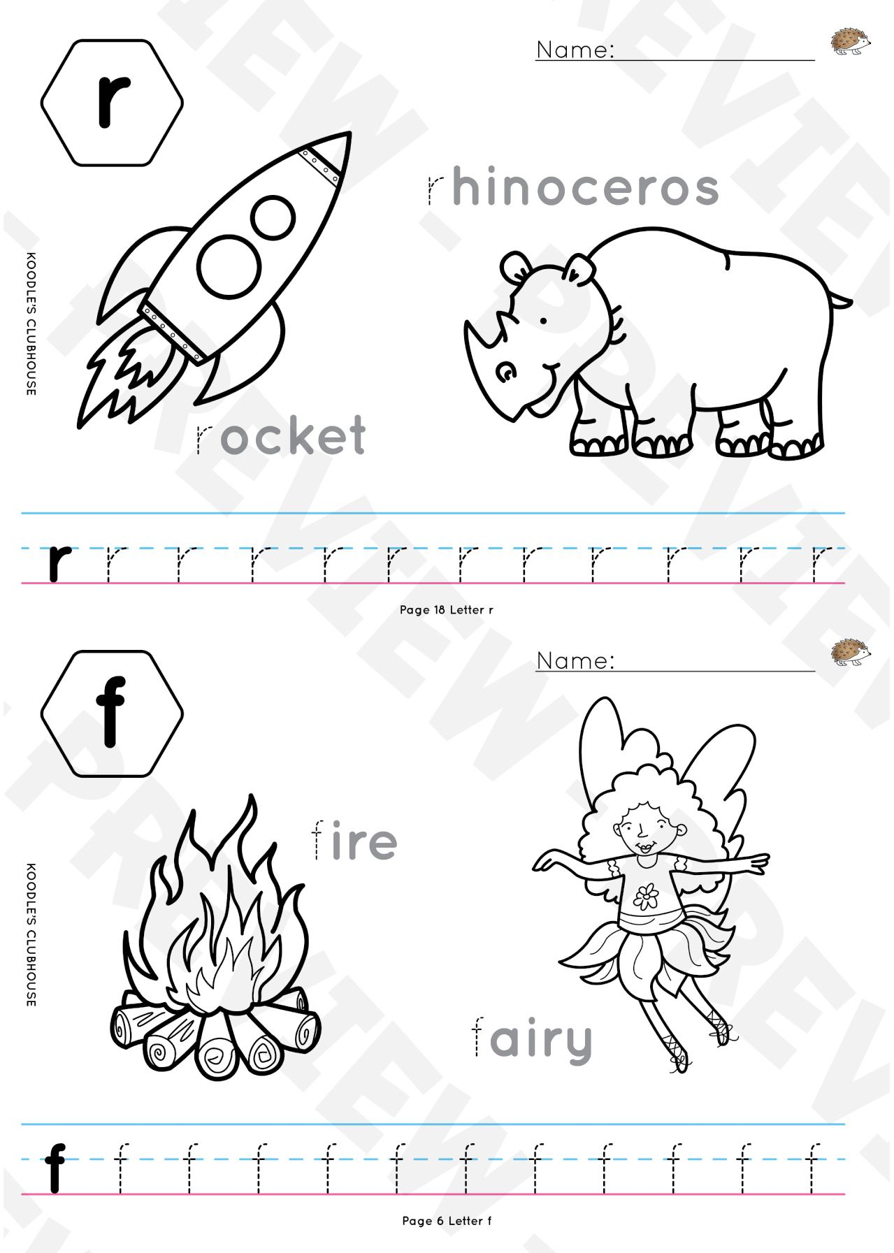 A to Z tracing worksheets Tracing worksheets, Letter