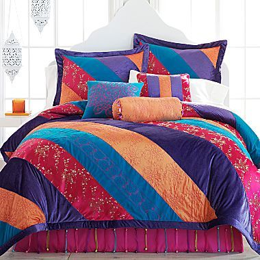 Seventeen Bedding Suri Comforter Set And More Jcpenney With