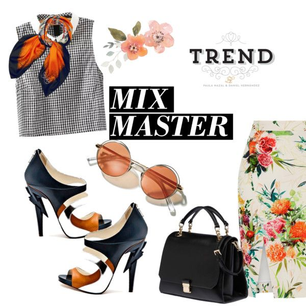 Mix Master Minimal by clotheshawg on Polyvore featuring мода, Oasis, Miu Miu, EMMA J SHIPLEY, Vs2R and patternmixing