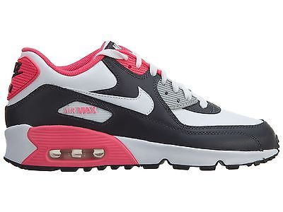 reputable site de04d f68b8 Nike Air Max 90 Ltr Gs Big Kids 833376-003 Anthracite Pink Shoes Youth Size