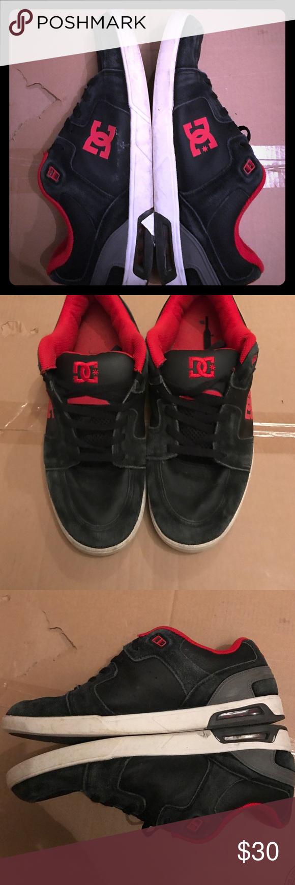 D.C. Skate sneakers Size 14, broken in