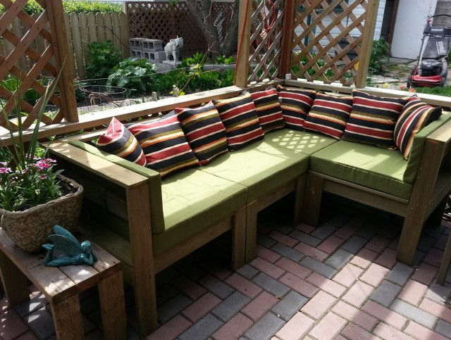 Kmart Outdoor Furniture Cushions | Better Outdoor Cushions | Pinterest