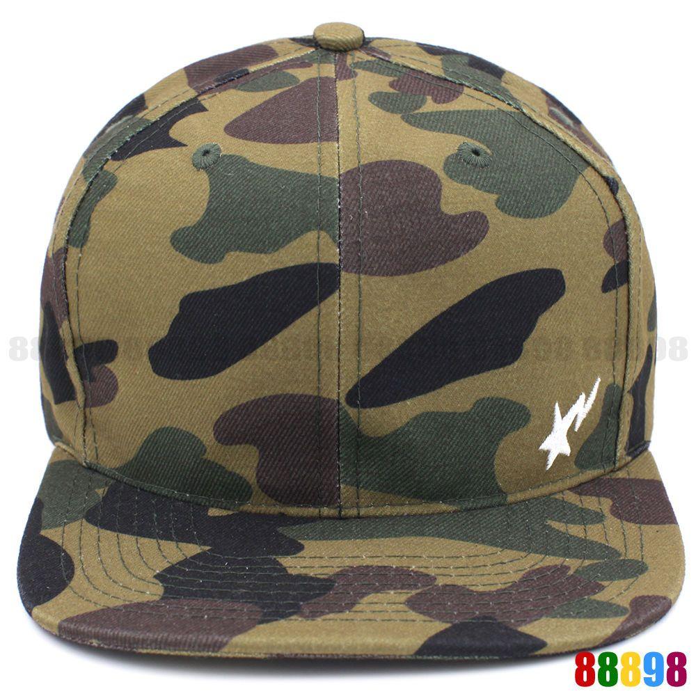 5cc8427eb9a A BATHING APE BAPE 1ST Camo Green Snapback Back Cap Adjustable Palace Hat