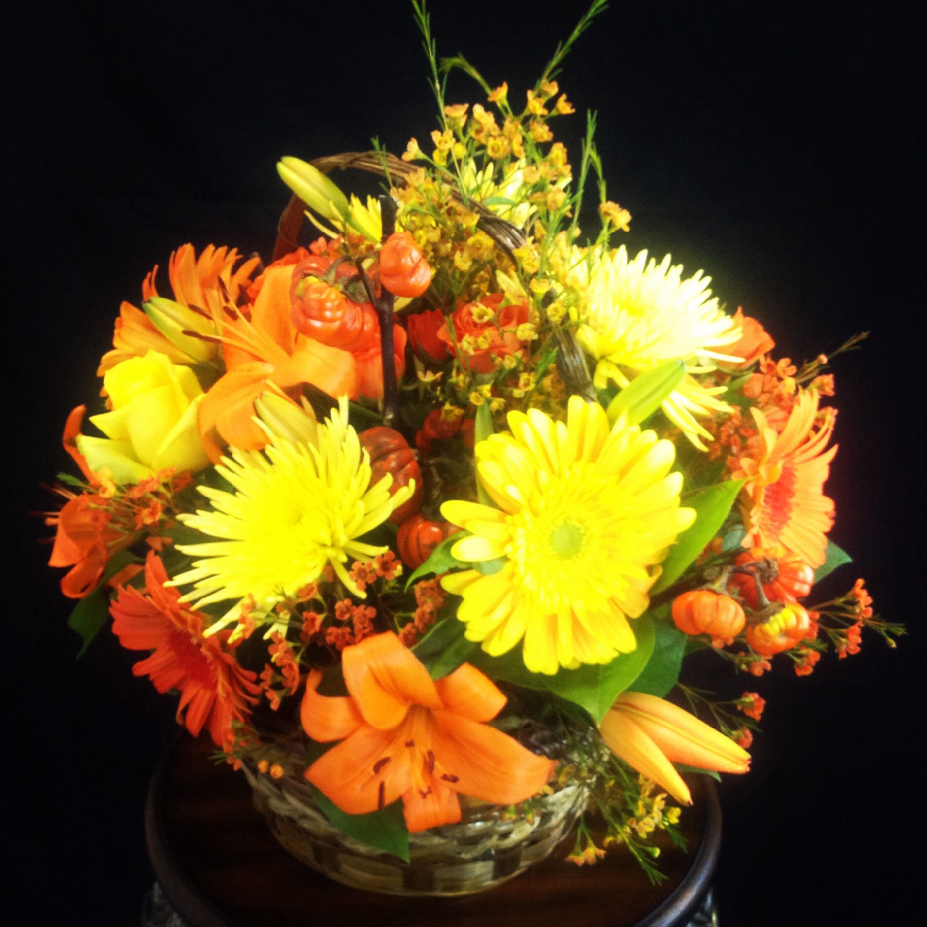 Beautiful fall flower arrangement at gardenofroses beautiful fall flower arrangement at gardenofroses ieflorist florist izmirmasajfo