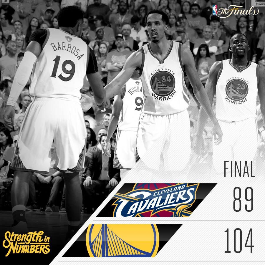 Game 1 with the Cavs in the playoffs 2016 🏀 BAM Golden