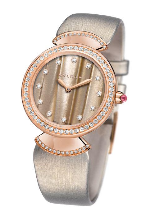 La montre Diva de Bulgari   Watches   Pinterest   Diva, Bvlgari and ... 673c99050ab