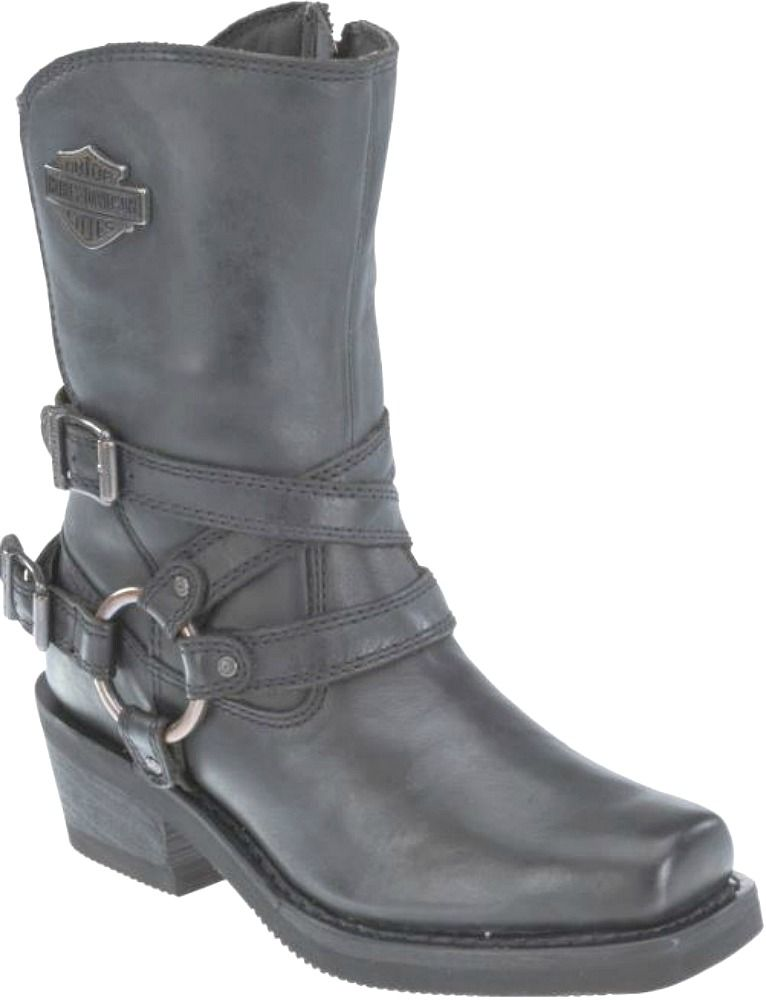 harley davidson women 39 s ingleside smoke leather riding boots motorcycle riding boots leather