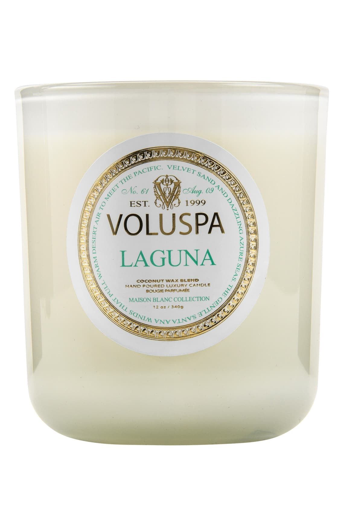 Voluspa Maison Blanc Laguna Classic Maison Candle Luxury Candles