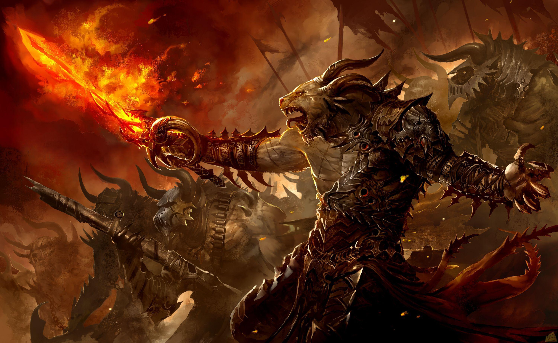 Guild Wars 2 Leveling Guide | Fantasy art | Guild wars