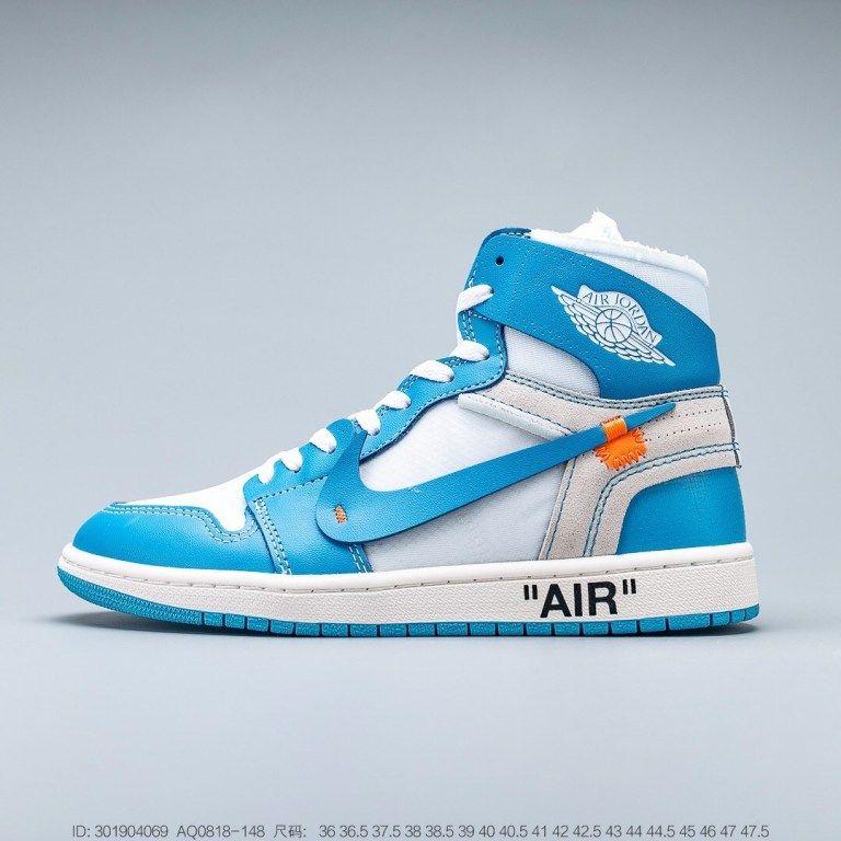 Air Jordan 1 Retro High Og Obsidian University Blue Nike Jordans Jordan 1 Retro High Off White University Blue In 2020 Jordan Shoes Girls Jordan 1 Retro High Jordan 1