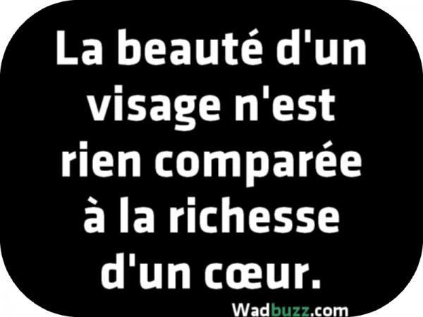 La Beauté Dun Visage Nest Rien Citation Beauté Citation