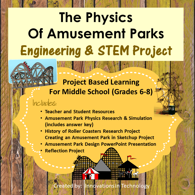 The Physics of Amusement Park Rides Project based