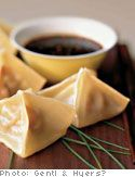 Steamed Pacific Rim Dumplings with Minced Chicken