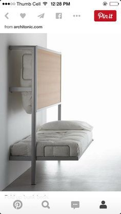 16 Creative and Mind Blowing Folding Beds #bedroom