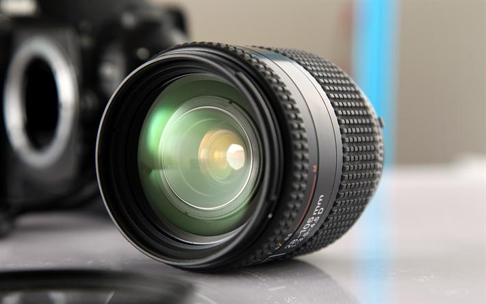 Download Wallpapers Camera Lens 4k 28 105mm Close Up Camera Besthqwallpapers Com Lensa Kamera Lensa Kamera