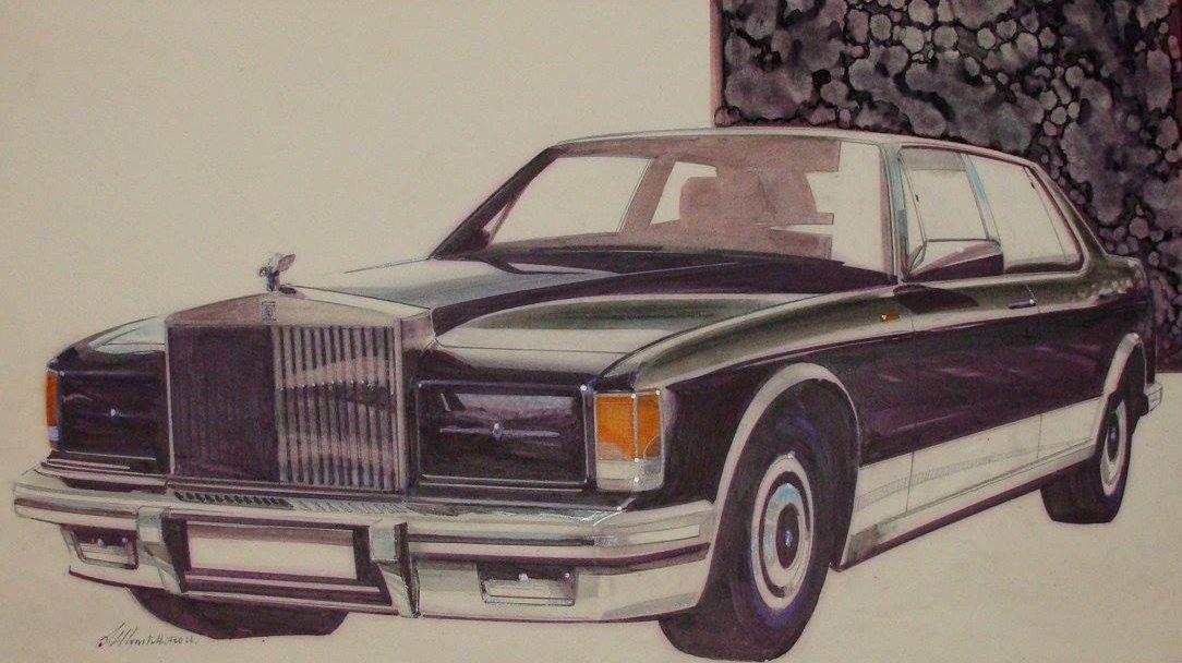 1988 drawing by Mulliner Park Ward