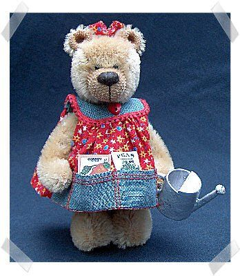 My handmade toys: Bear in a dress - a toy. A pattern. | soft toys ...