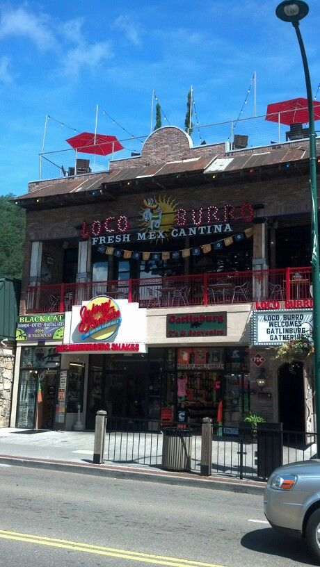 Loco Burro Is A Great Mexican Restaurant In Gatlinburg