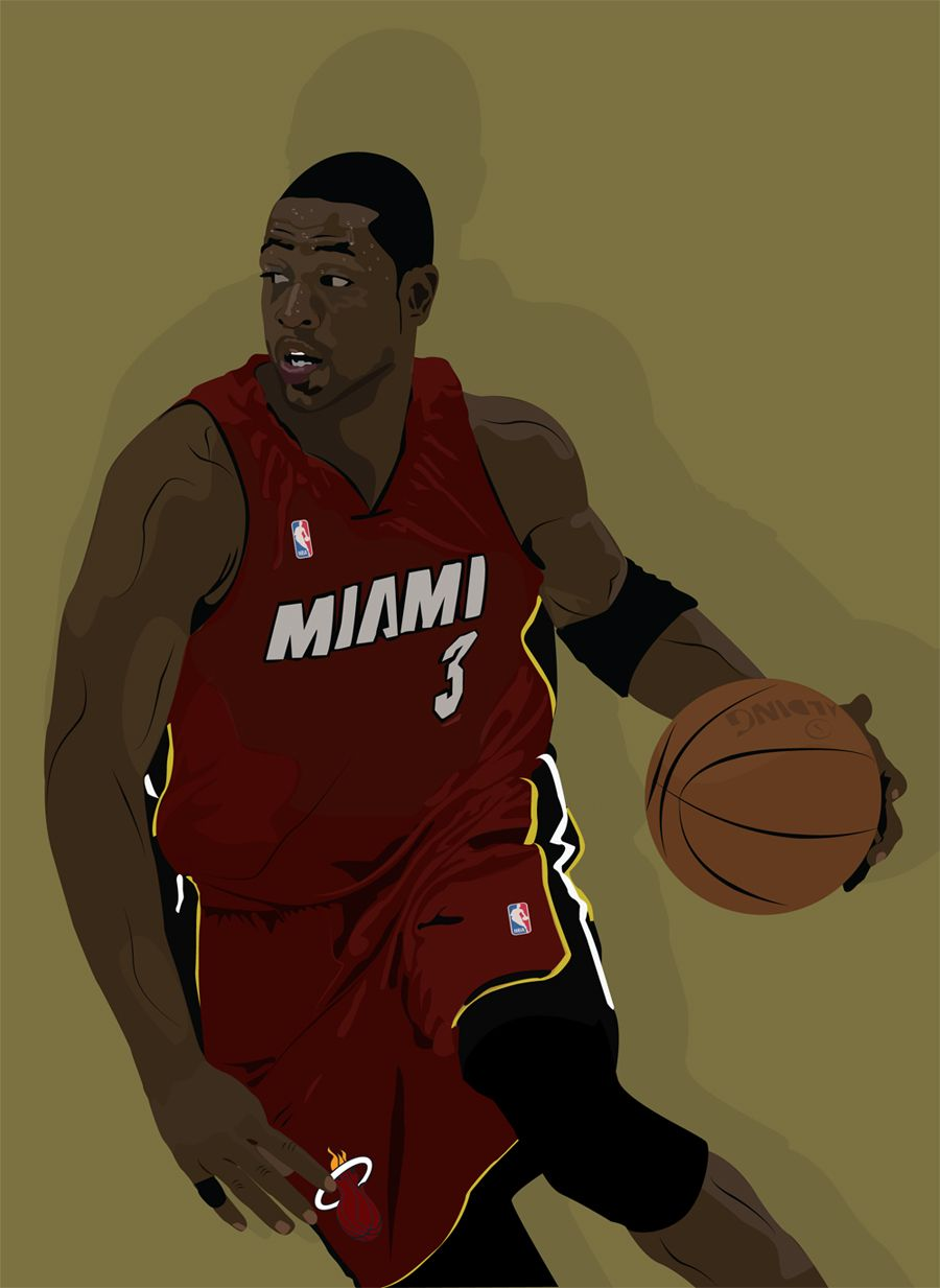 Dwayne'The Flash'Wade.. by consolemaster on deviantART