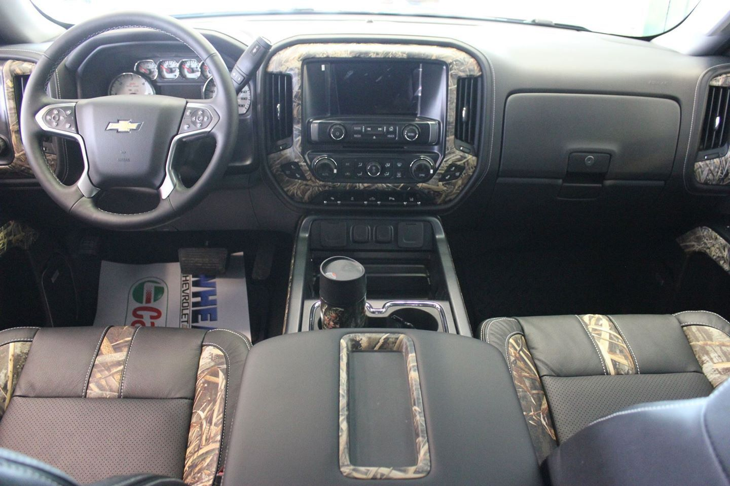 This Is What I Want Inside My Truck Camo Interior Truck