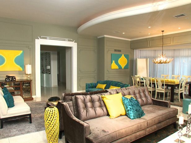 After: Modern Meets Traditional in Sizzling Makeovers From Color Splash: Miami from HGTV