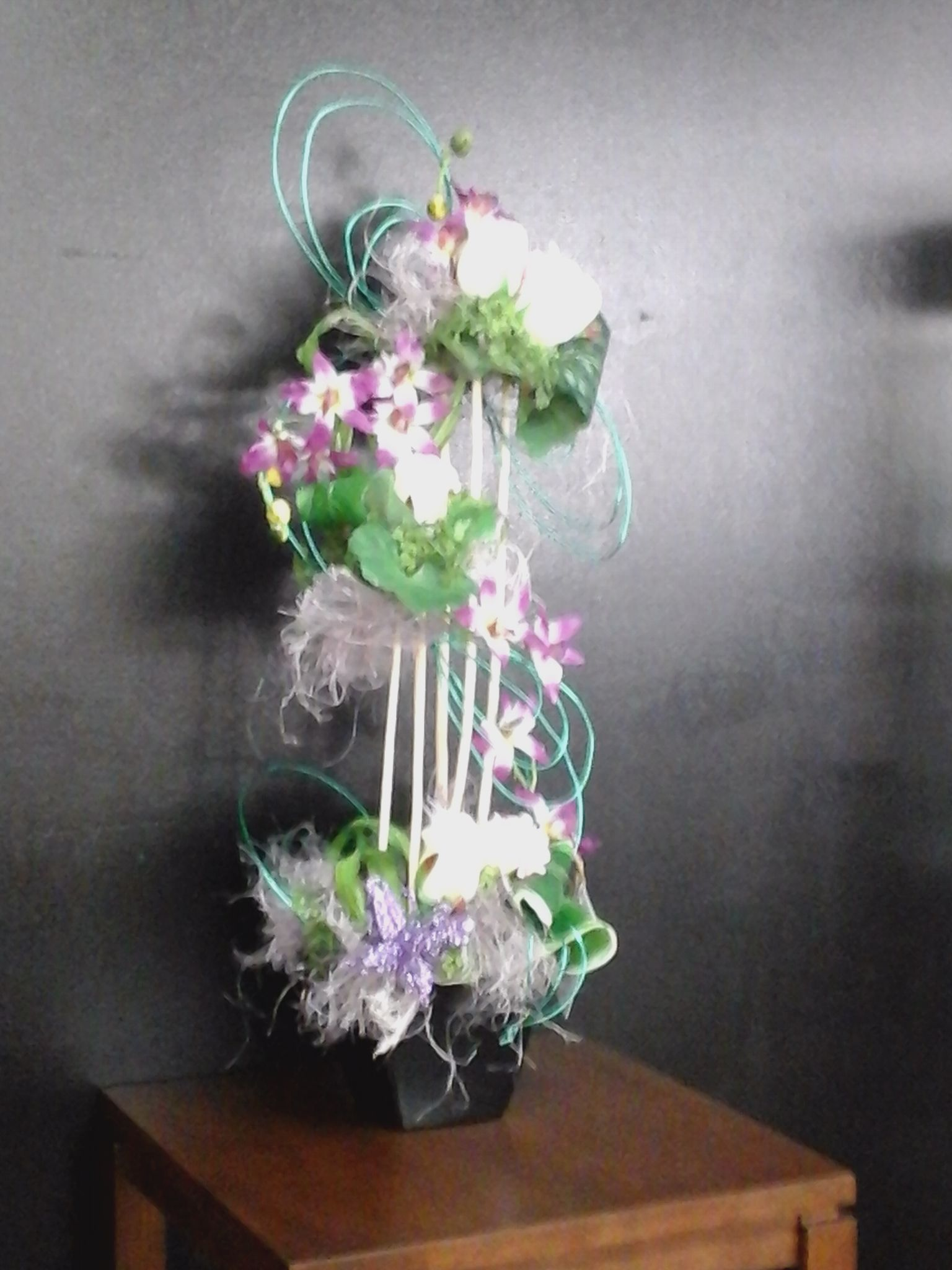 The beauty of silk arrangements is that you can create a
