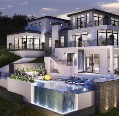 Maison de luxe | belles demeures | House, House design et Luxury homes