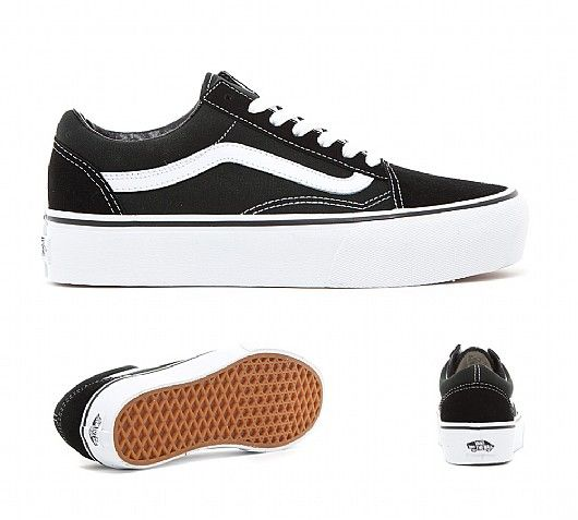 vans old skool women's black