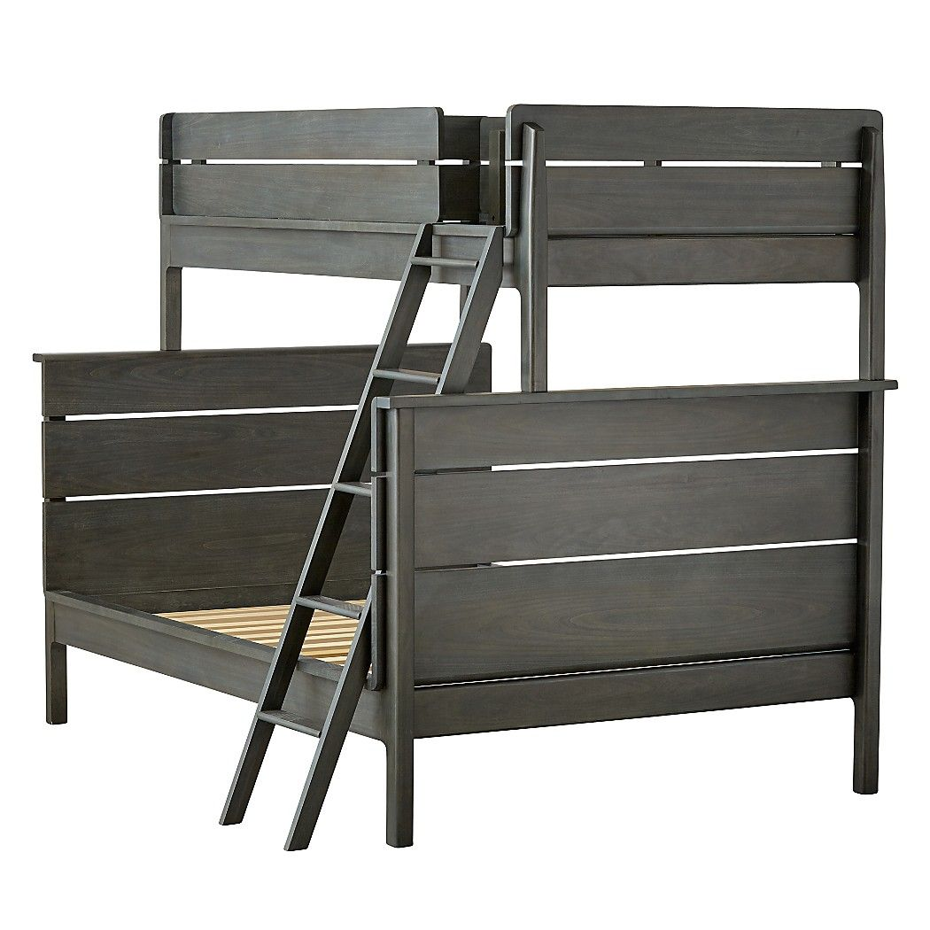 Shop Wrightwood River Blue Twin-Over-Full Bunk Bed.  Our Wrightwood Twin-Over-Full Bunk Bed has made it easier than ever to create the right look right away for any room in your home.