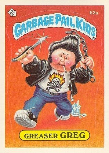 Garbage Pail Kids With Images Garbage Pail Kids Garbage Pail Kids Cards Pail