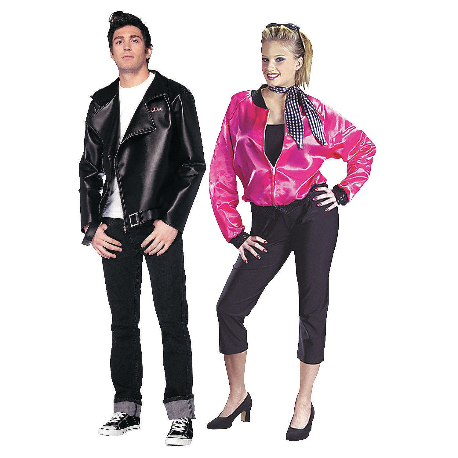 Grease Couples Costumes - OrientalTrading.com  sc 1 st  Pinterest & Grease Couples Costumes - OrientalTrading.com | Halloween Costume ...