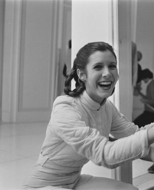 RIP PRINCESS LEIA❤️❤️Love you Carrie and I can't wait to actually meet you one day! Good luck I love you❤️
