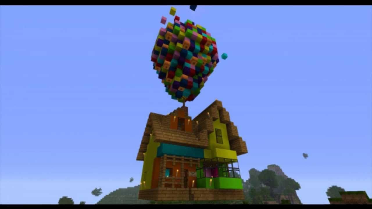 Amazing Minecraft Creations | Up | Disney | Pinterest | Minecraft ...