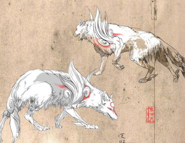 Artwork Amaterasu Okami Capcom Amaterasu Artwork Art