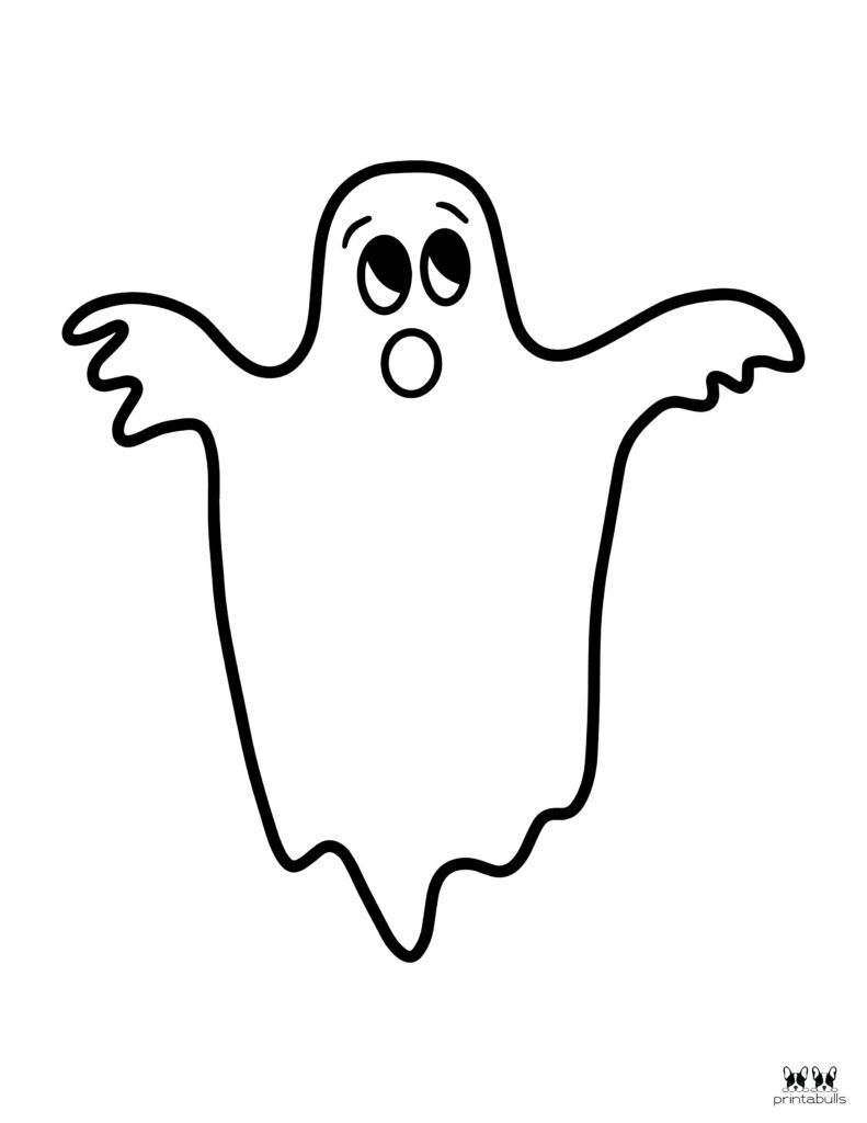 Printable Halloween Ghost Coloring Page Page 2 Halloween Ghost Decorations Ghost Images Coloring Pages