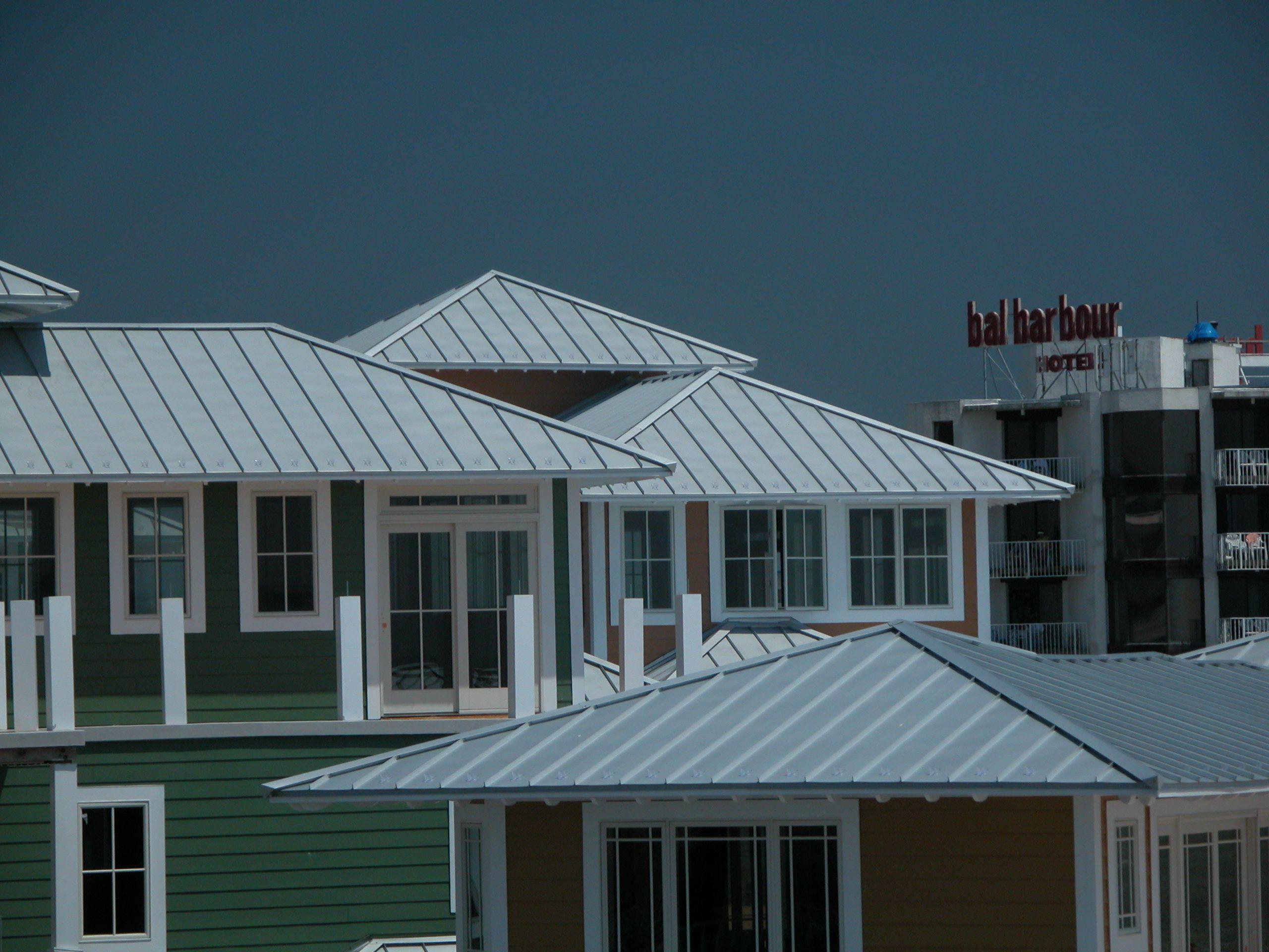 Coastal Colors Metal Roof Roofing Corrugated Metal Roof