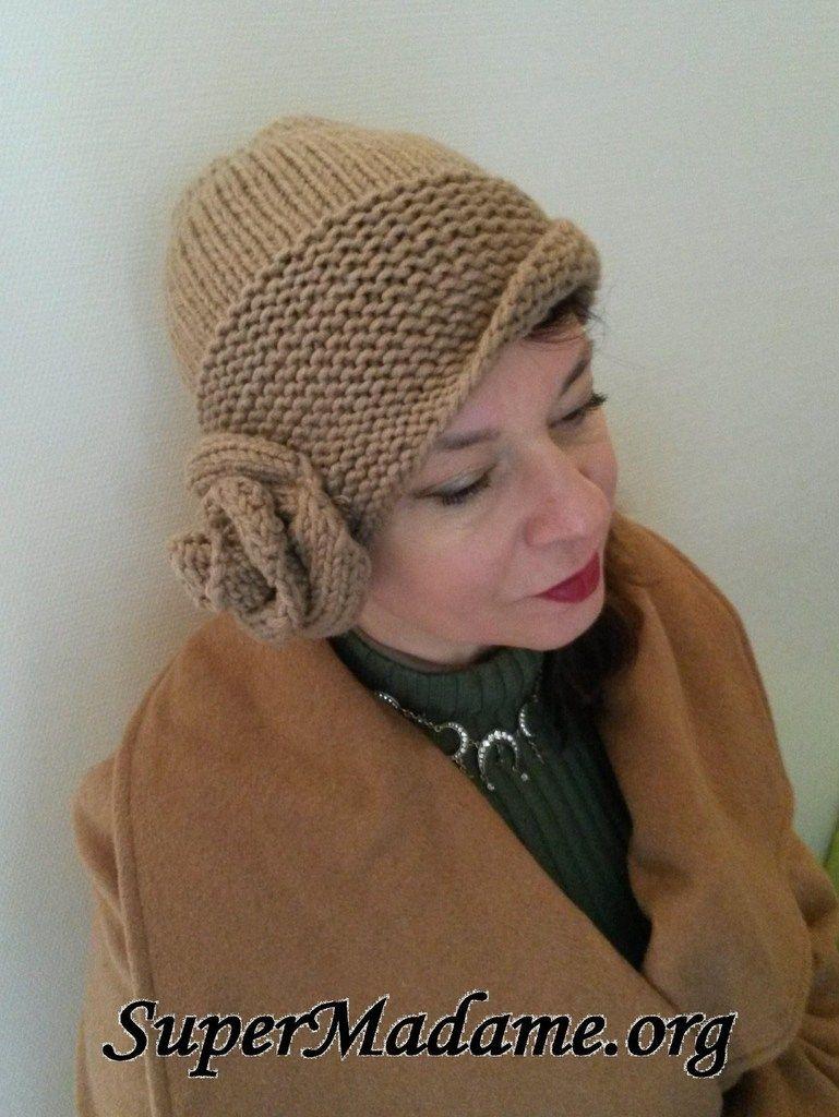 modeles bonnet tricot gratuits