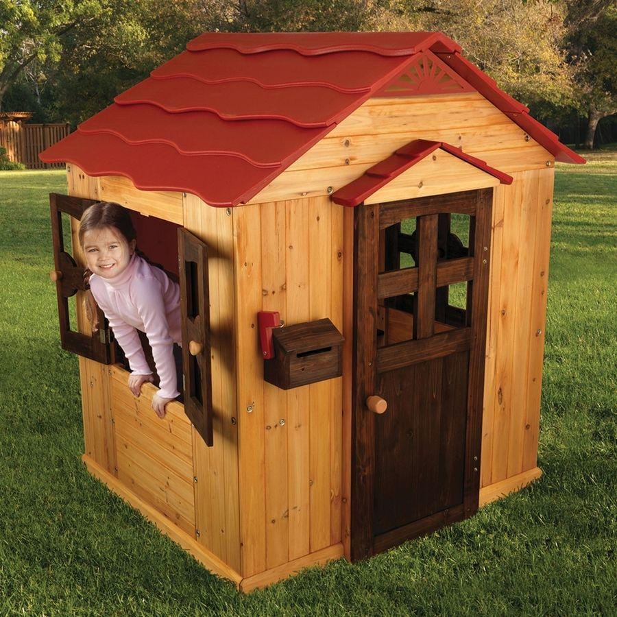 KidKraft Playhouse Wood Playhouse Kit Playhouse outdoor