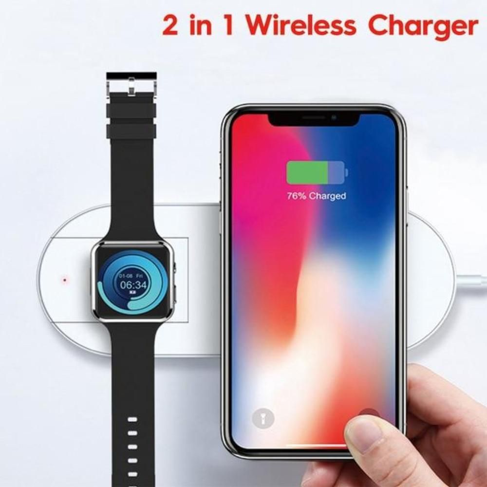 3 in 1 wireless charger for iphone samsung fast charger