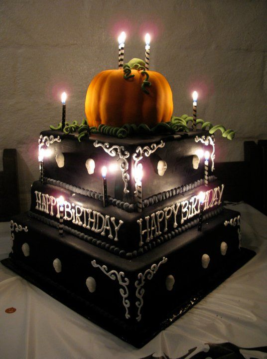 Enjoyable A Halloween 50Th Birthday Party I Loved Making This Cake The Funny Birthday Cards Online Barepcheapnameinfo