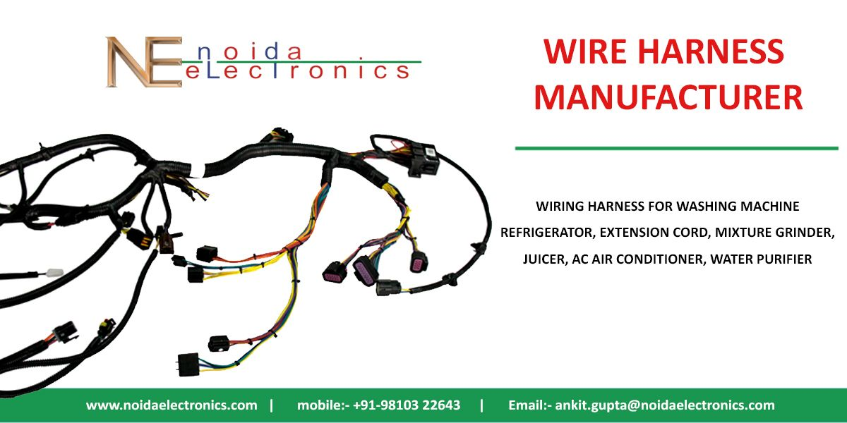 Wire Harness Image By Noida Electronics Water Purifier Harness